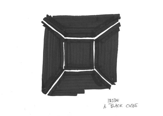 borders black cube